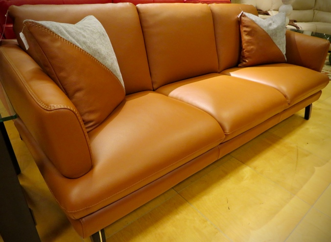 Max Divani Leather Sofa
